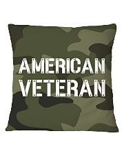 Proud American Veteran Square Pillowcase thumbnail