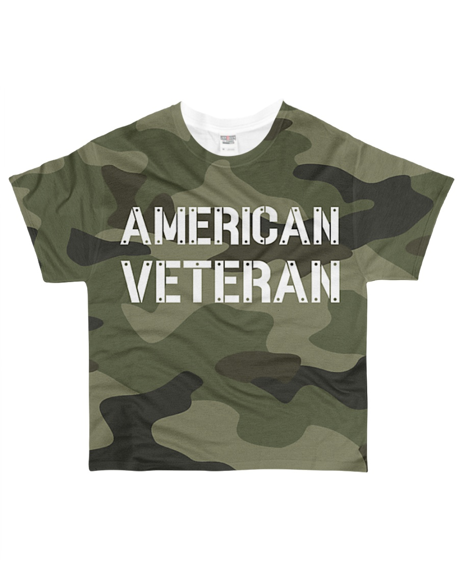 Proud American Veteran All-over T-Shirt