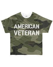Proud American Veteran All-Over T-Shirt tile
