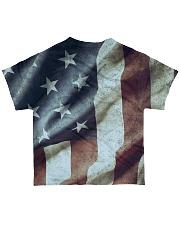 Veteran Honor Medal All-over T-Shirt back