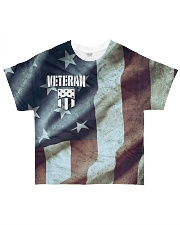 Veteran Honor Medal All-over T-Shirt front