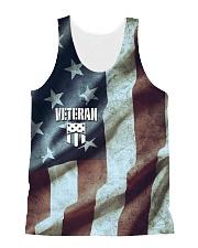 Veteran Honor Medal All-over Unisex Tank thumbnail