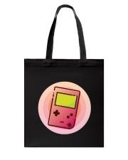 Retro Portable Console Tote Bag back
