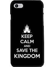 Keep Calm and Save the Kingdom Phone Case i-phone-7-case