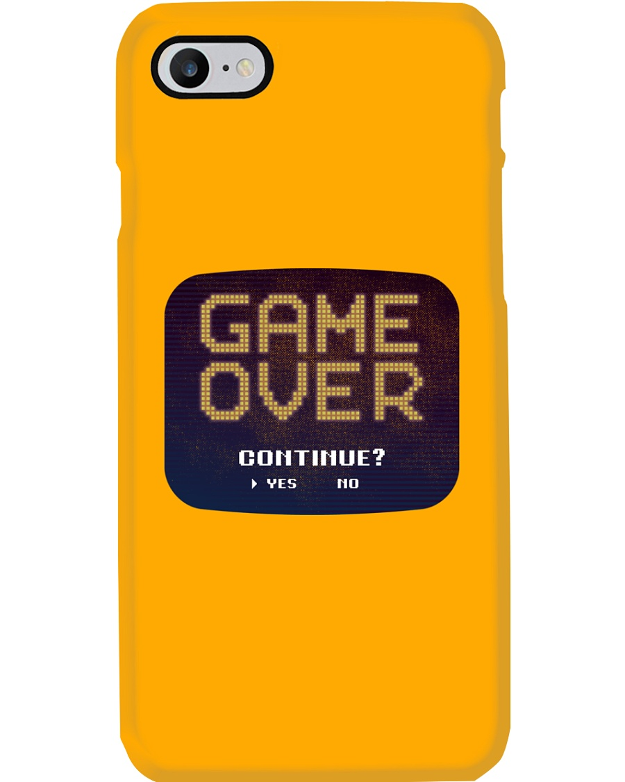 Game Over Continue Phone Case