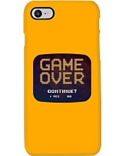 Game Over Continue Phone Case tile