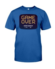 Game Over Continue Classic T-Shirt front