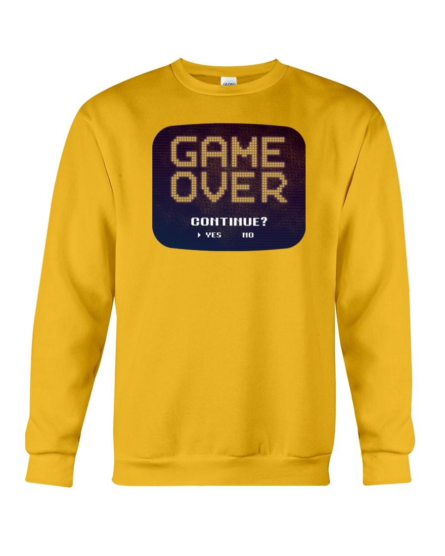 Game Over Continue Crewneck Sweatshirt