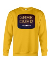 Game Over Continue Crewneck Sweatshirt tile