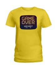 Game Over Continue Ladies T-Shirt thumbnail
