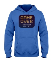 Game Over Continue Hooded Sweatshirt tile