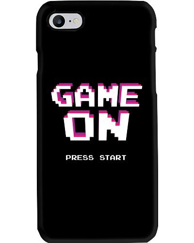 Game On Press Start