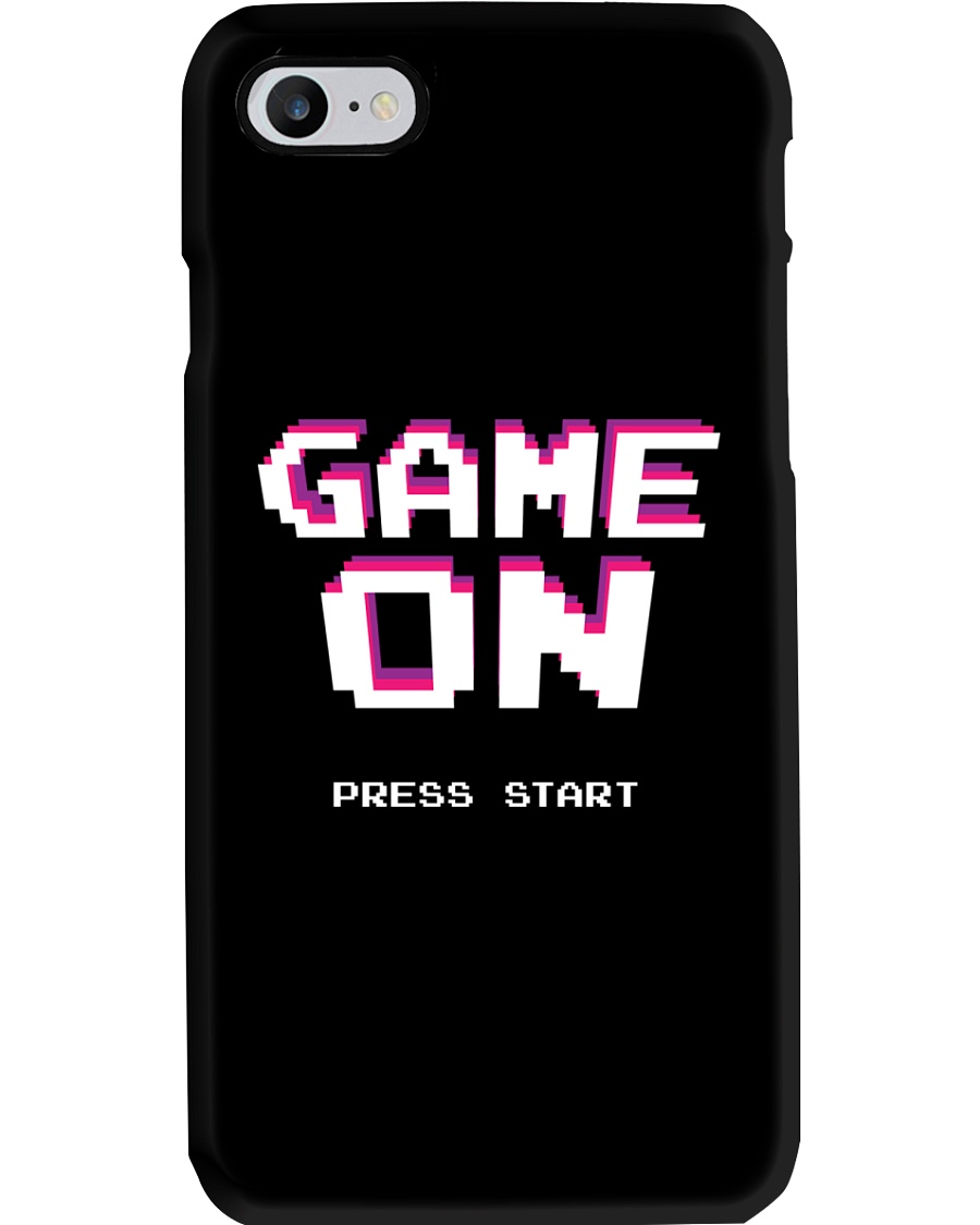 Game On Press Start Phone Case