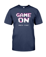 Game On Press Start Premium Fit Mens Tee tile