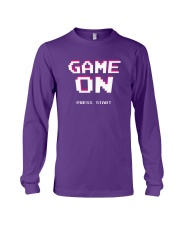 Game On Press Start Long Sleeve Tee tile