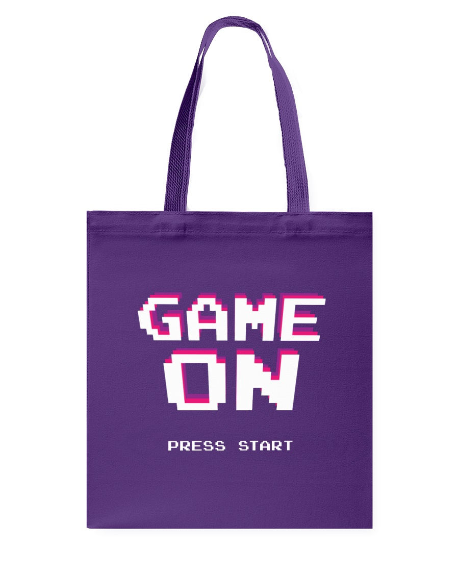 Game On Press Start Tote Bag