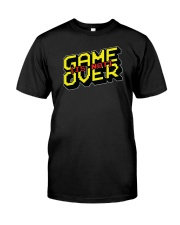 Game Is Not Over Classic T-Shirt tile
