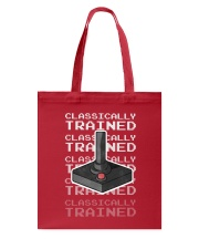 Classically Trained Tote Bag back