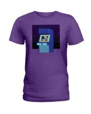 1 Up Arcade Ladies T-Shirt thumbnail
