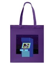 1 Up Arcade Tote Bag back