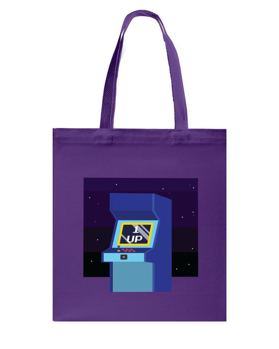 1 Up Arcade Tote Bag