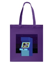 1 Up Arcade Tote Bag front