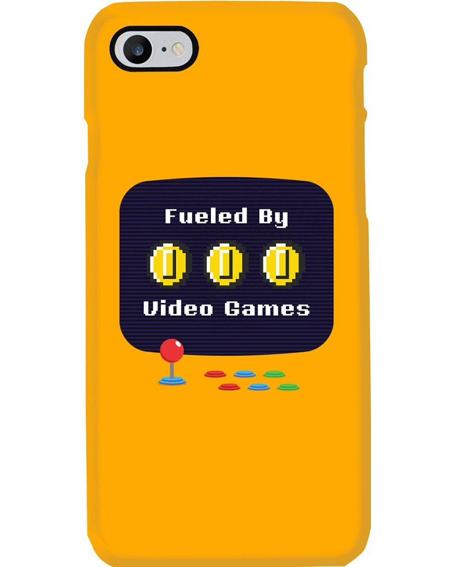 Fueled by Video Games Phone Case