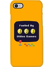 Fueled by Video Games Phone Case tile