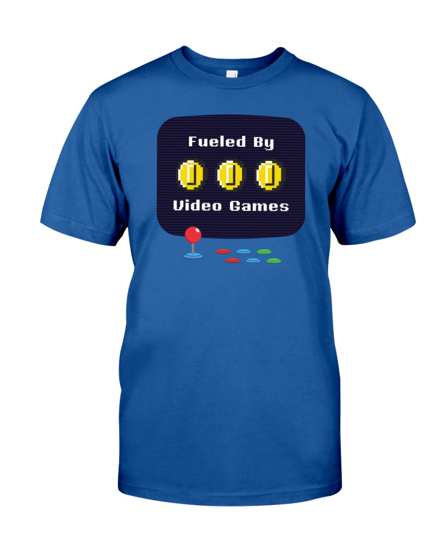 Fueled by Video Games Classic T-Shirt