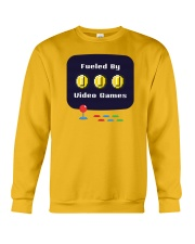 Fueled by Video Games Crewneck Sweatshirt tile