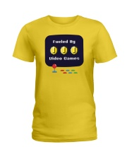 Fueled by Video Games Ladies T-Shirt thumbnail
