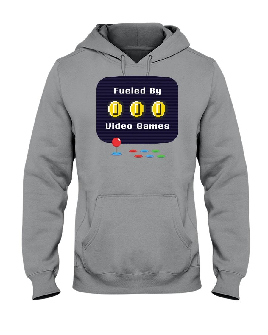Fueled by Video Games Hooded Sweatshirt