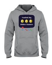 Fueled by Video Games Hooded Sweatshirt front