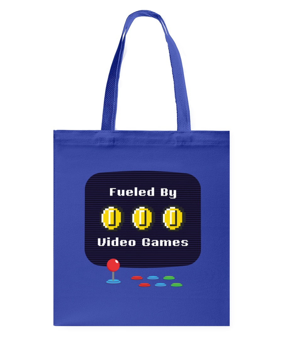 Fueled by Video Games Tote Bag