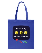 Fueled by Video Games Tote Bag thumbnail