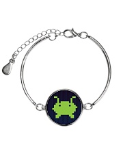 Alien Invasion Metallic Circle Bracelet tile