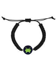 Alien Invasion Cord Circle Bracelet tile