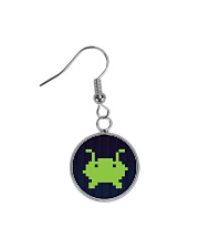 Alien Invasion Circle Earrings tile