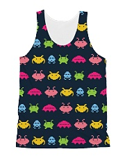 Alien Invasion All-Over Unisex Tank tile