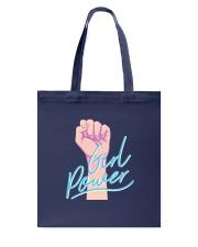 Girl Power Tote Bag back