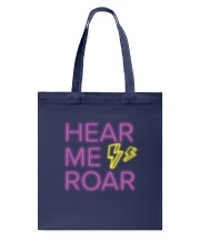 Hear Me Roar Tote Bag thumbnail