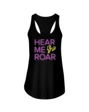 Hear Me Roar Ladies Flowy Tank thumbnail