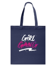 Girl Gang Tote Bag back