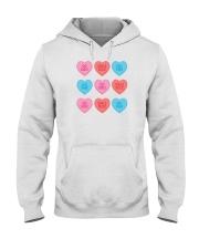 Girl Hearts Hooded Sweatshirt thumbnail