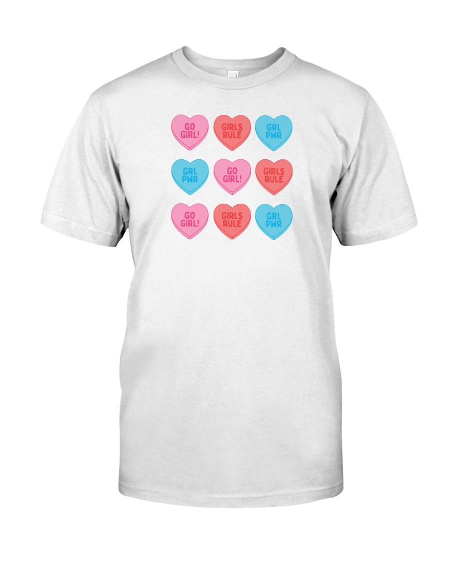 Girl Hearts Classic T-Shirt