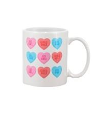 Girl Hearts Mug thumbnail