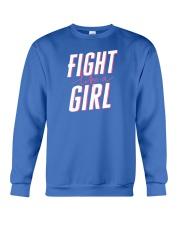 Fight like a Girl Crewneck Sweatshirt thumbnail