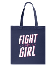 Fight like a Girl Tote Bag front