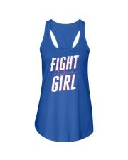 Fight like a Girl Ladies Flowy Tank thumbnail