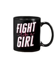 Fight like a Girl Mug thumbnail